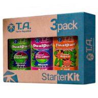 Starter Kit 3pack DualPart agua blanda kit de fertilizantes | Terra Aquatica - GHE
