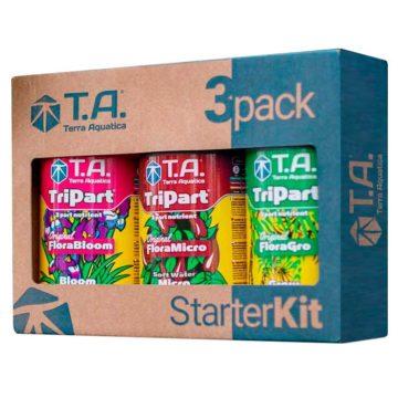 Starter Kit 3Pack Tripart Agua Blanda Terra Aquatica Ghe 01