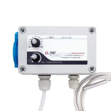 Controlador De Temperatura Y Velocidad Minima Para Ventilador Gse Gse 1