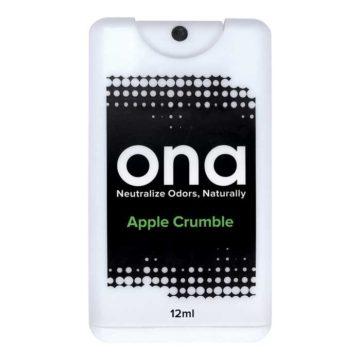 Ona Spray Card Apple Crumble Ambientador Neutralizador Olor 12Ml Ona
