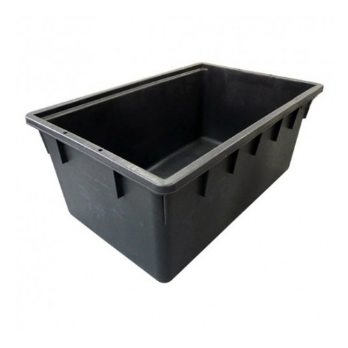 Dep sito rectangular pl stico negro salt n verde for Depositos de plastico