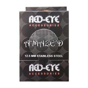 Caja 500 Rejillas De Acero Red Eyes Para Pipas Amazed 125Mm 01