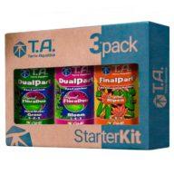 Starter Kit 3pack DualPart agua dura kit de fertilizantes | Terra Aquatica - GHE