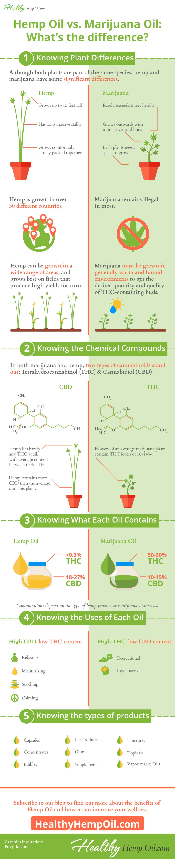 Hemp Oil Vs Marijuana Oil Healthy Hemp Oil.com