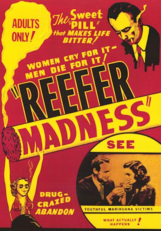 Carteles Vintage Cannabis Marijuana 02