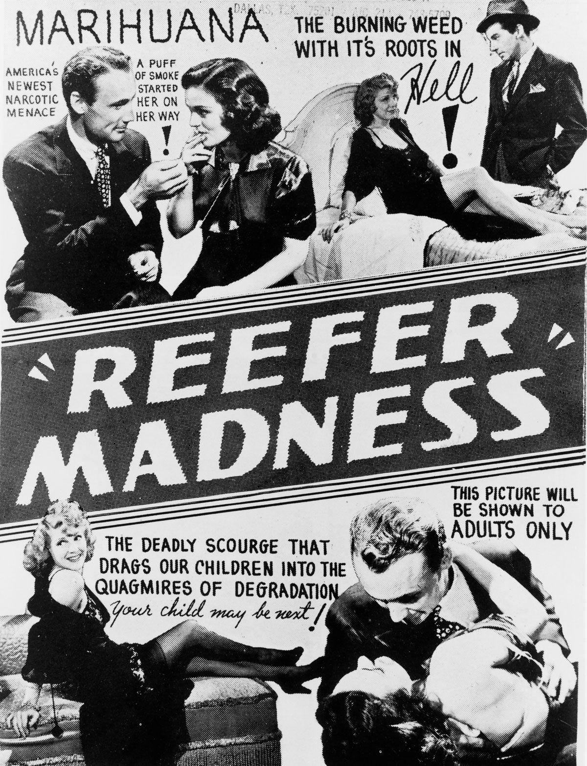 Carteles Vintage Cannabis Marijuana 03