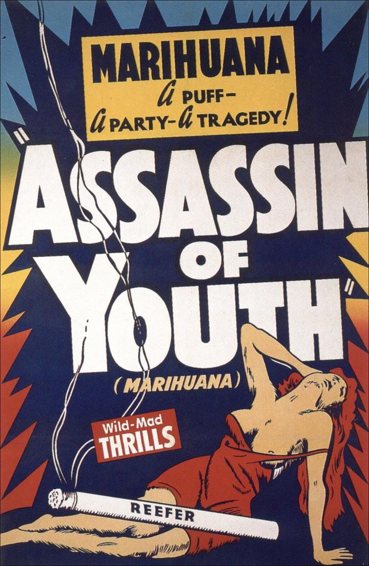 Carteles Vintage Cannabis Marijuana 04