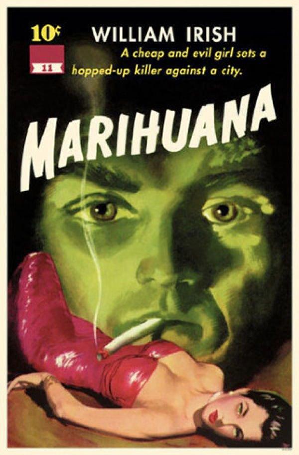 Carteles Vintage Cannabis Marijuana 11