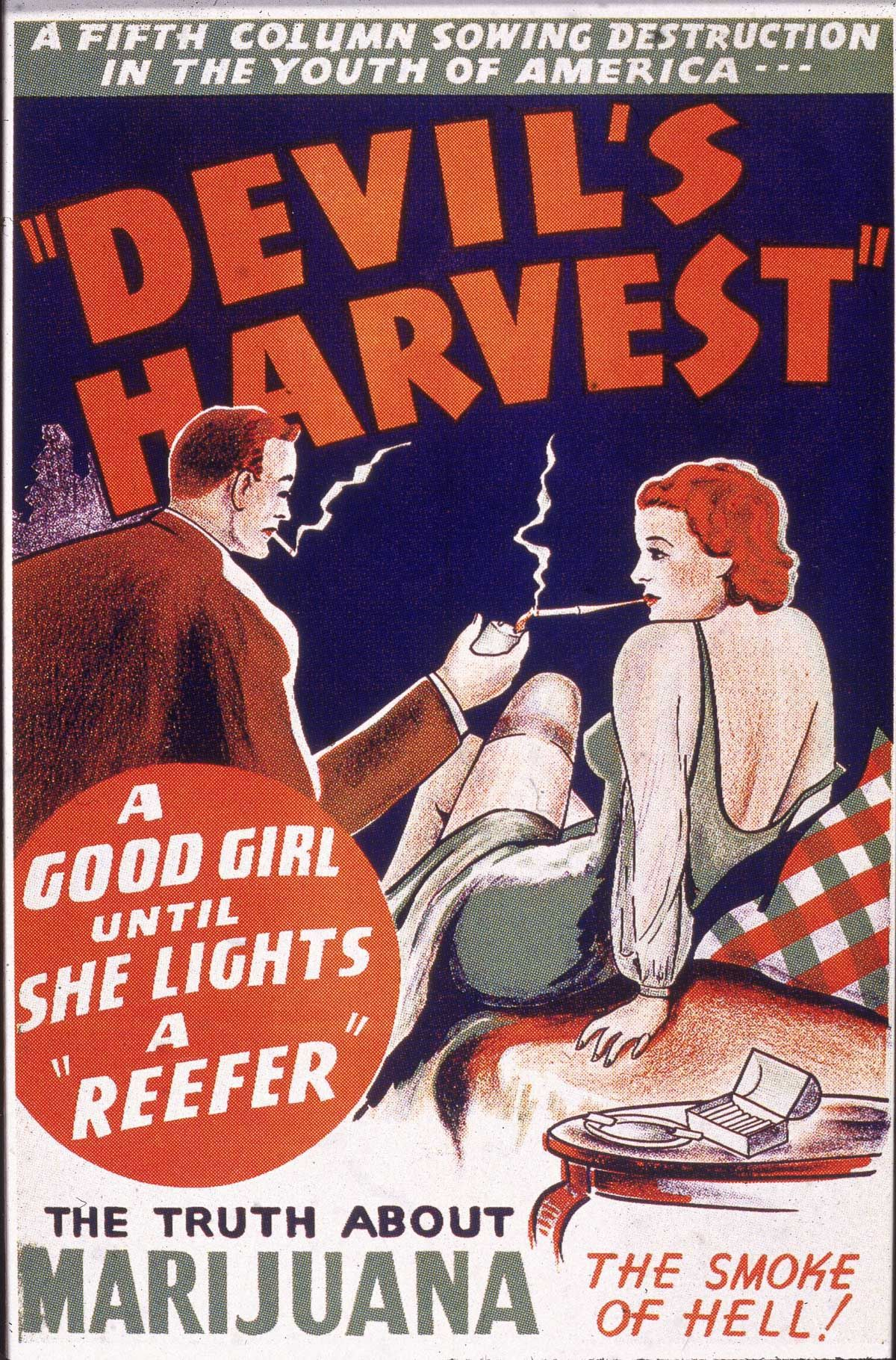 Carteles Vintage Cannabis Marijuana 16