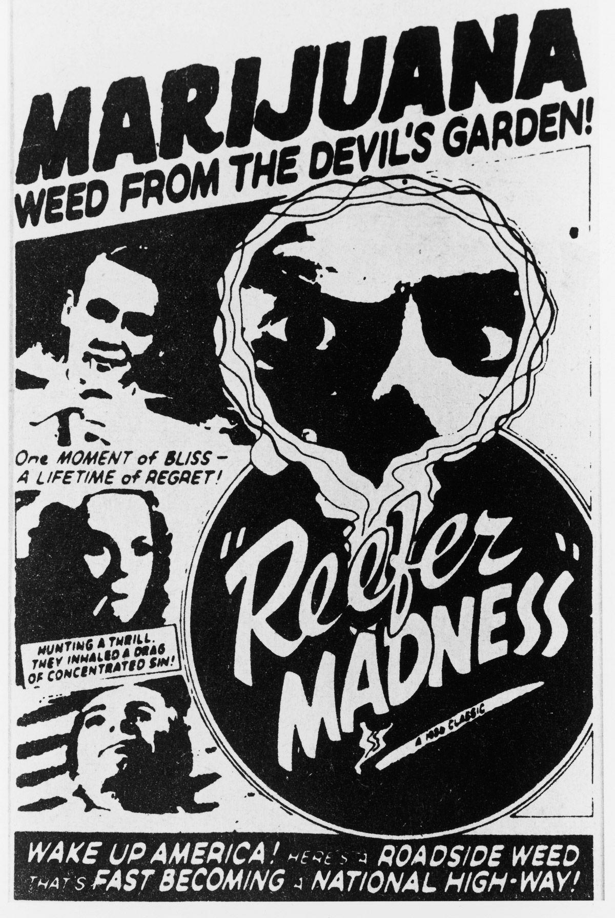Carteles Vintage Cannabis Marijuana 18