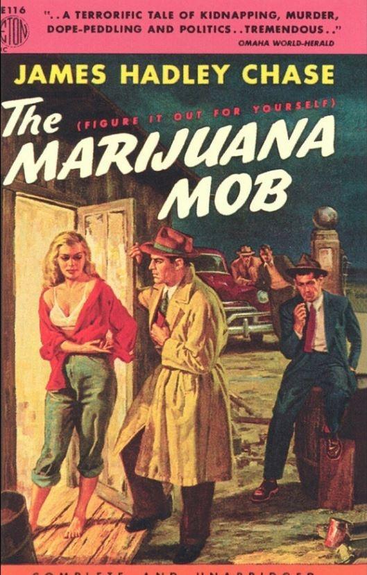 Carteles Vintage Cannabis Marijuana 23
