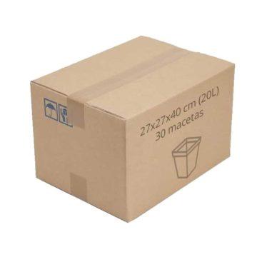 Caja 27X27X40Cm
