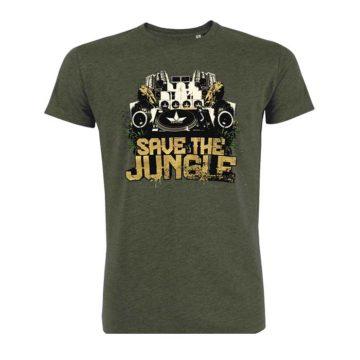 Save The Jungle Algodon Hombre 01