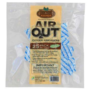 Harvest Keeper Air O2Ut Oxygen Absorbers 100Cc