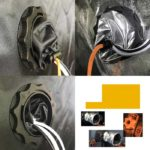 Acople-Cable-Flange-70Mm