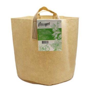 Flexapot Maceta Textil 15 Gal Beige