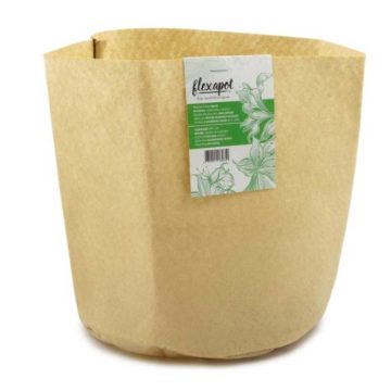 Flexapot Maceta Textil 2 Gal Beige