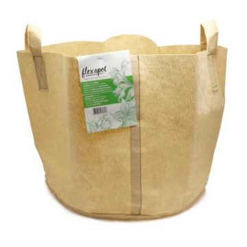 Flexapot Maceta Textil 20 Gal Beige