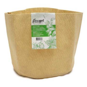 Flexapot Maceta Textil 3 Gal Beige