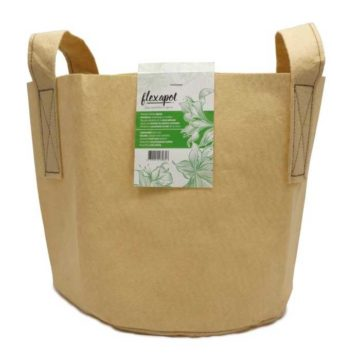 Flexapot Maceta Textil 5 Gal Beige
