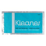 Toallita limpiadora de toxinas para piel, cabeza y cuello 9ml   Kleaner