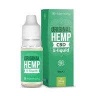 E-liquid CBD Original Hemp / líquido para vapear CBD sabor natural (10ml) | Harmony