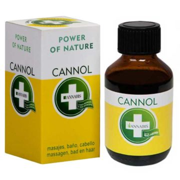 Annabis Cannol Aceite De Cannabis Bano Masaje 100Ml 02