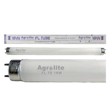 Fluorescente Recto Para Crecimiento Fl T8 18W 6400 K Agrolite