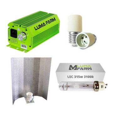 Kit Lec Lumafarm Reflector Estuco 315W 3100K
