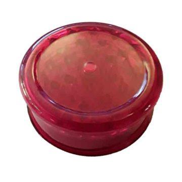 Grinder Plastico Rojo 63Mm