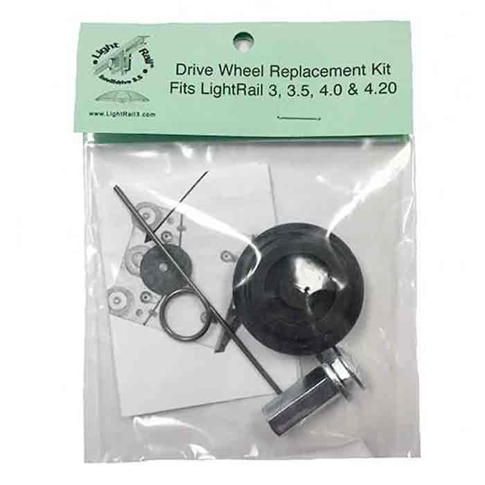 Ruedas para carro auxiliar Light Raíl 4.0 LightRail®