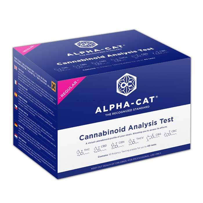 test kit de cannabinoides alpha cat