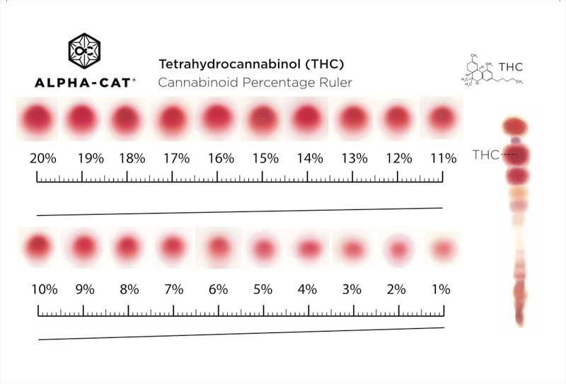 Test Kit De Cannabinoides Alpha Cat 40 04