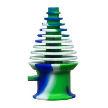 Mouthpeace Boquilla Silicona Universal Verde Azul 01