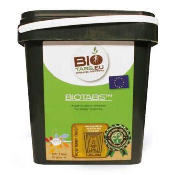 Pastillas Fertilizantes Biotabs 100Uds