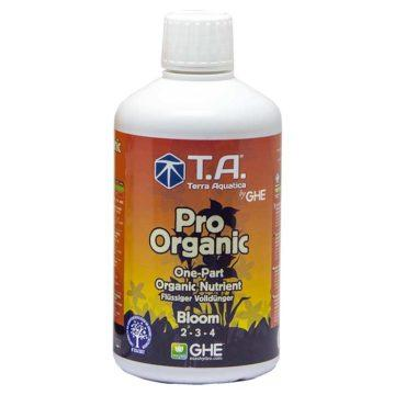 Pro Organic Bloom G O Thrive Bloom Terra Aquatica Ghe 500Ml
