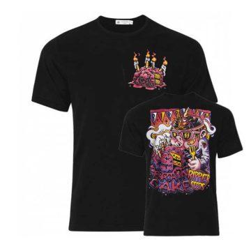 Camiseta Ripper Seeds Logo Brain Cake 00