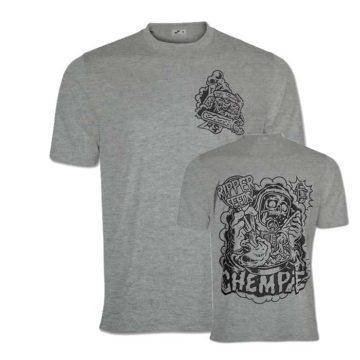 Camiseta Ripper Seeds Logo Chempie Gris 00