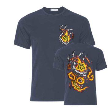 Camiseta Ripper Seeds Logo Do G Azul 00