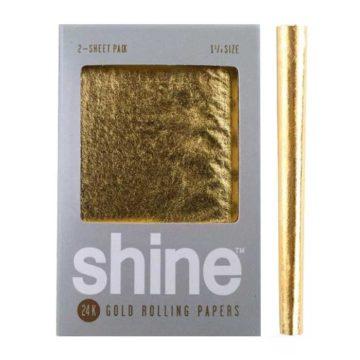 Papel Shine Oro 24K 114 2 Unid