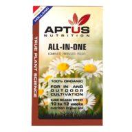 All-in-One Pellet fertilizante orgánico sólido 100% BIO 100ml   Aptus