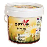 All-in-One Pellet fertilizante orgánico sólido 100% BIO 1L   Aptus