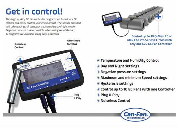 Can Fan Lcd Ec Fan Controller 04