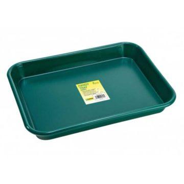 Handy Tray Green Garland 41X31X4 5Cm
