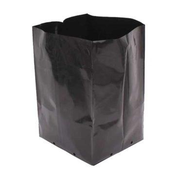 Bolsas Cultivo Plastico Negro 1L 01