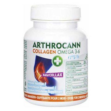 Arthrocann Colageno Complemento Alimenticio De Canamo Con Colageno Y Omega 3 6
