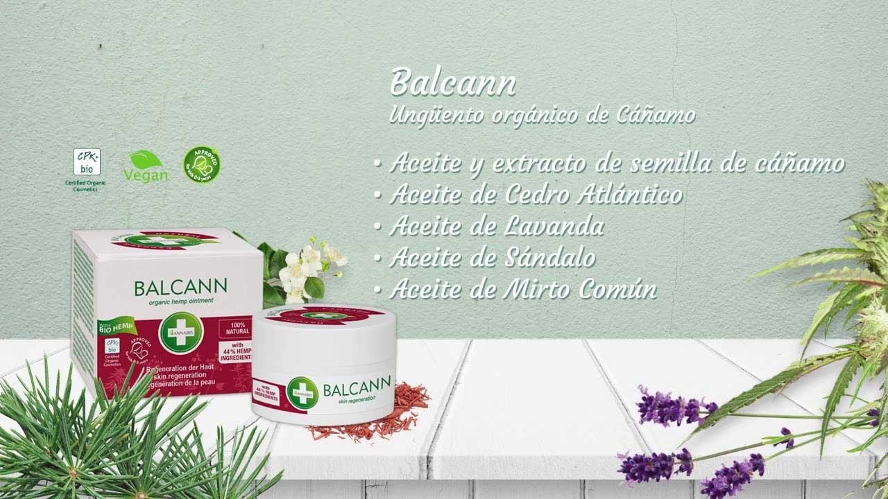 Balcann Unguento Canamo Bio Piel Atopica