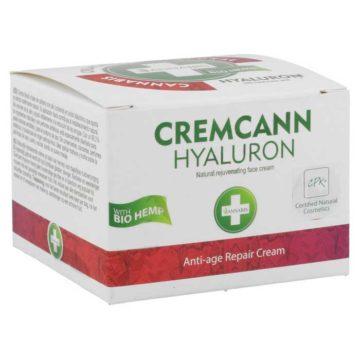 Cremcann Hyaluron Crema Facial Canamo Acido Hialuronico Antiarrugas 50Ml