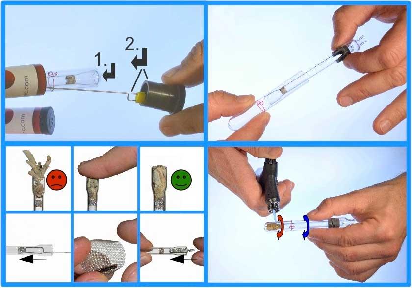 Vaponic Vaporizador Borosilicato Manual Hierbas Concentrados 04