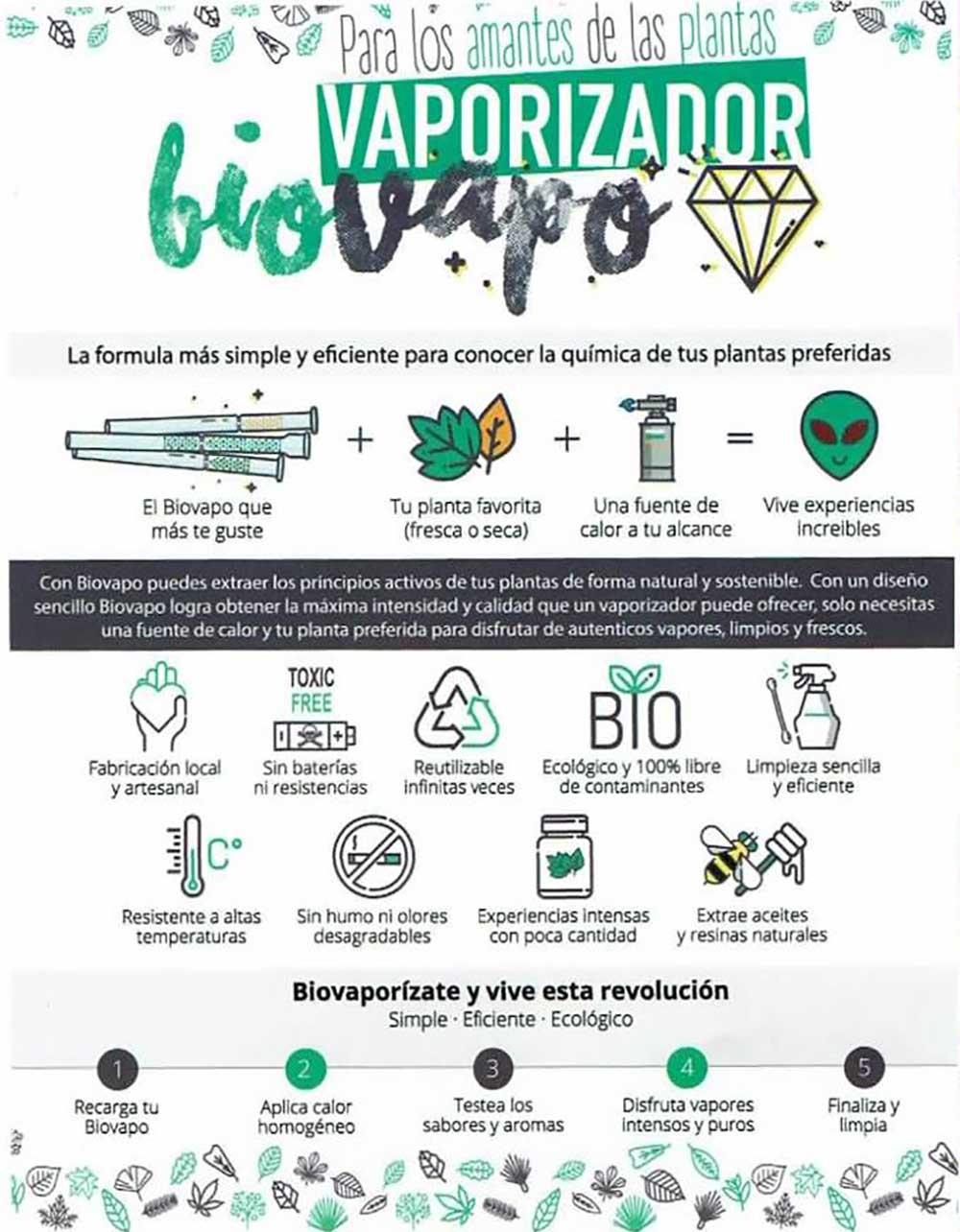 Vaporizador Ecologico Biovapo 05